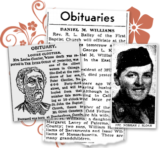 Obituary Archives - Search Obituaries Online | GenealogyBank