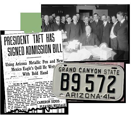 Old Arizona Newspaper artcile_President Taft
