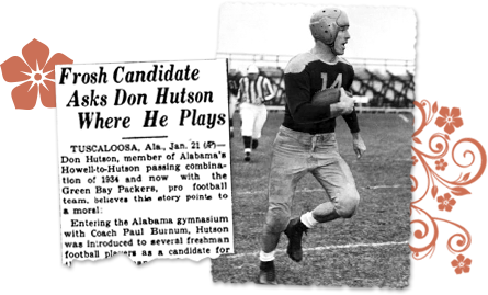 Alabama newspaper archives Don Huston
