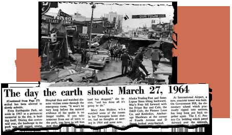 Alaska Newspaper Archives 1964 earthquake