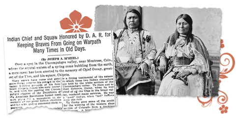 Native American Genealogy in CO Newspaper Archives