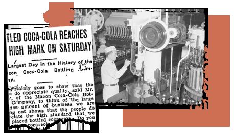 Historic Coca Cola bottling record GA newspapers