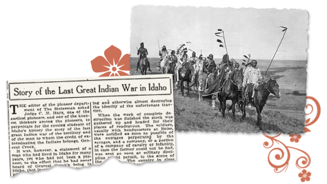 Idaho Archives_Last Great Indian Wer article & photo
