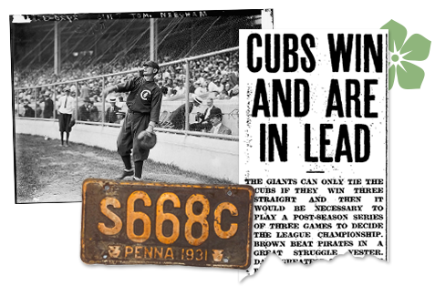 Illinois Newspaper Archives Cubs Win