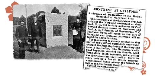 Maryland Newspaper Archives Guilford Monument