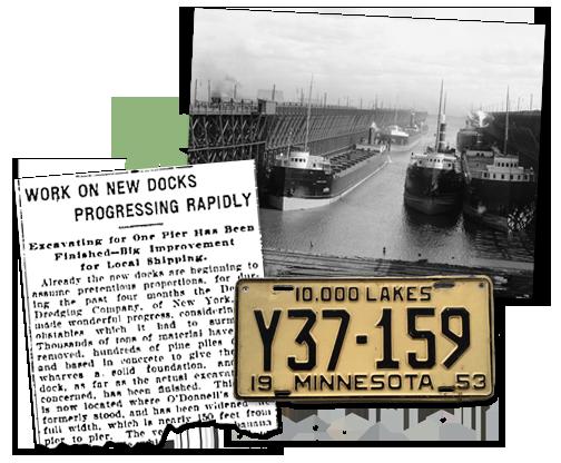 Minnesota Newspaper Archives Dock