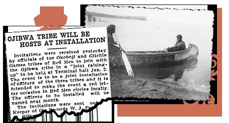 Minnesota Newspaper Archives Ojibwa Tribe