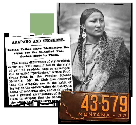 Montana_Newspaper Article Arapaho & Shoshone