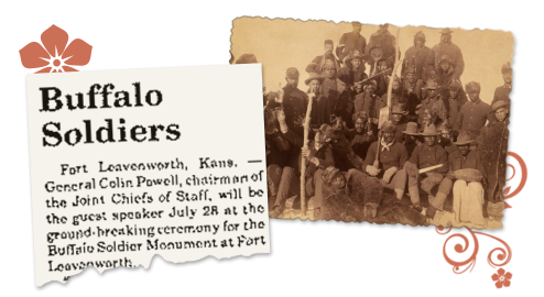 nebraska newspaper archive about the buffalo soldiers