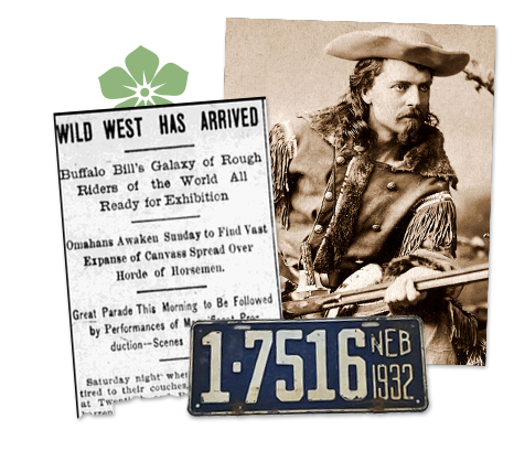 nebraska newspaper archive about the wild west