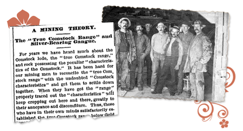 Nevada newspaper article Mining