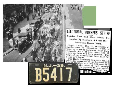New Jersey newspaper archives_strike