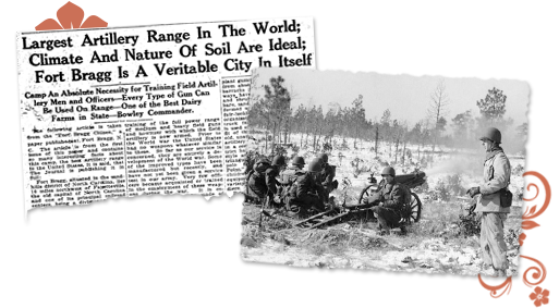 North Carolina old article about Fort Bragg