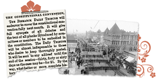 North Dakota Archive Constitutional Convention