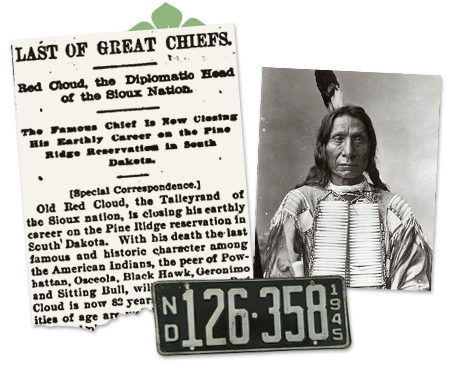 North Dakota Old Newspaper Article_Sioux Chief
