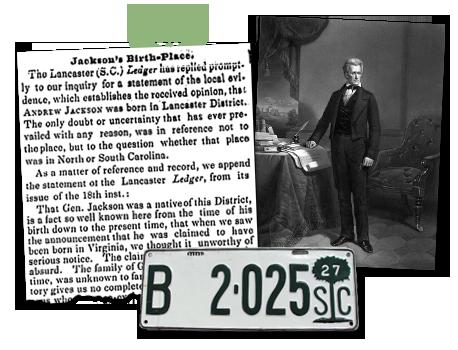 SouthCarolina_Archives POTUS Jackson's Birth Place