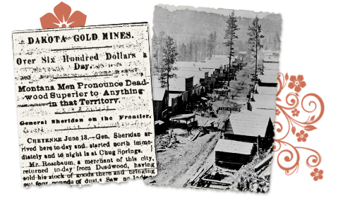 South Dakota newspaper old article gold mines