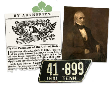 Tennessee_Old article about POTUS Polk