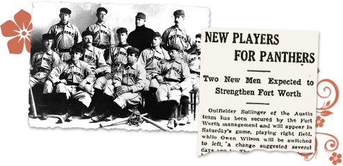 Texas newspaper archives baseball