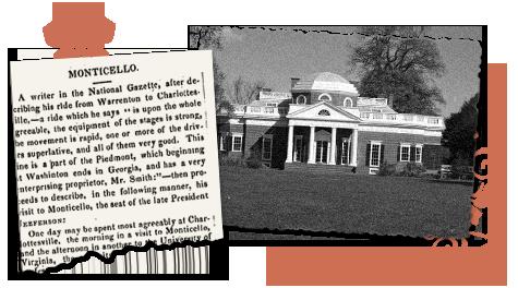 Virginia newspaper archives Monticello